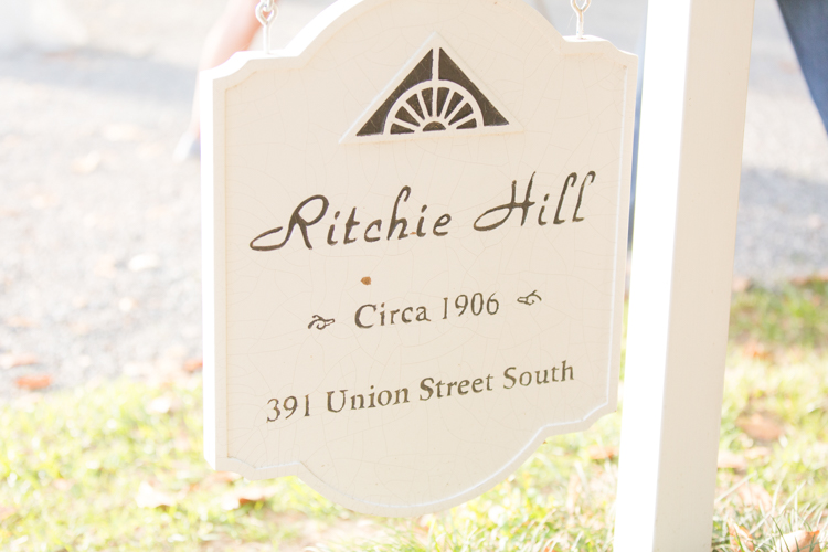 Ritchie Hill NC styled shoot