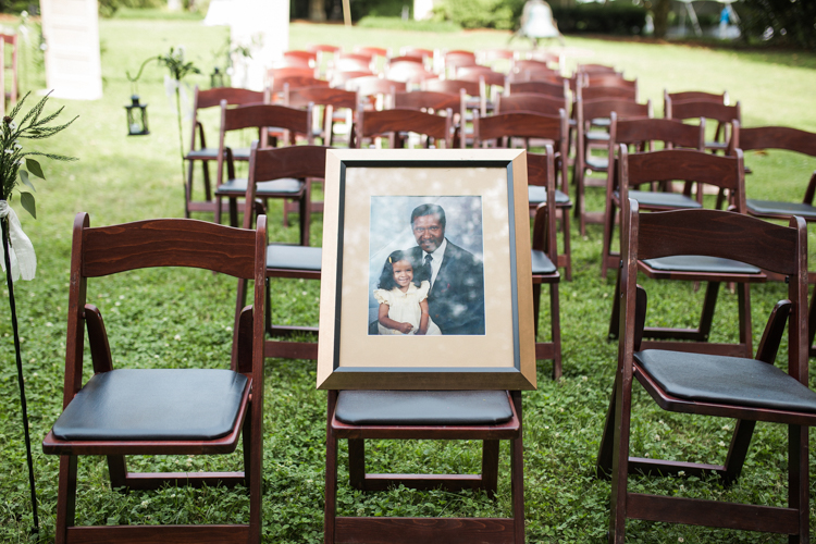 Horace Williams House Wedding