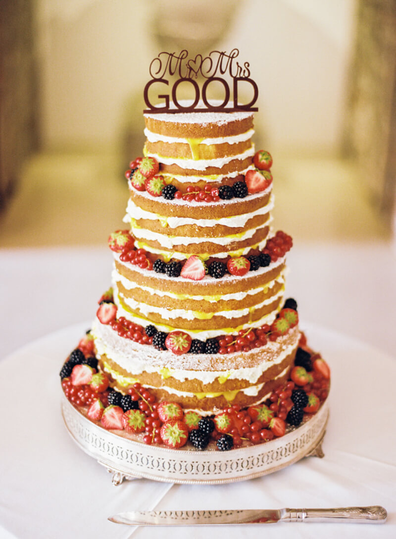 Naked Wedding Cakes — The Carolinas Magazine - North Carolina + SC ...