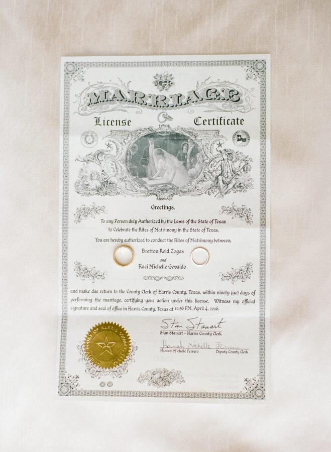 Marriage License — The Carolinas Magazine - North Carolina + SC