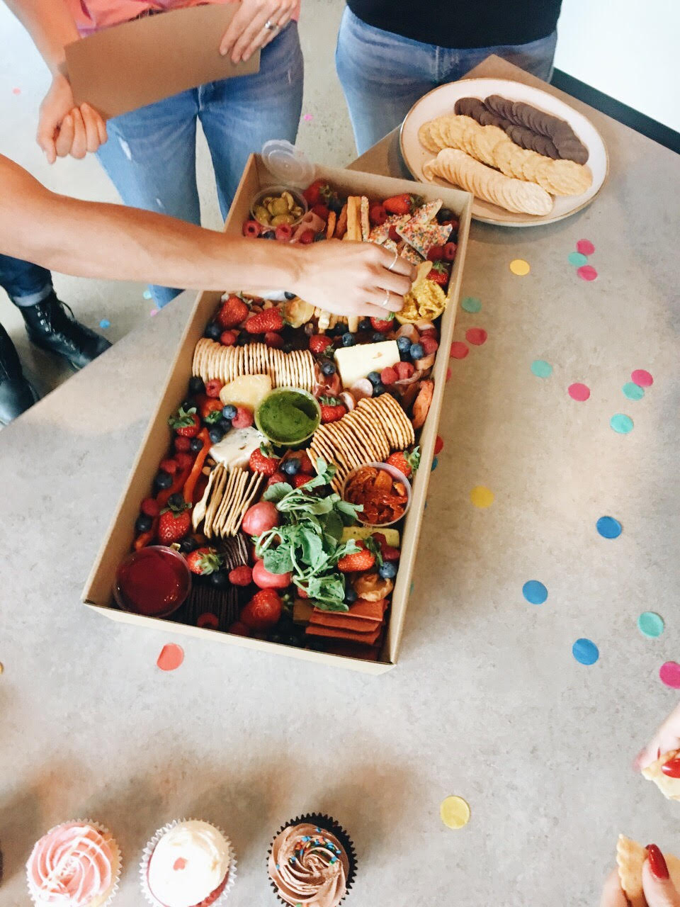 Large R'n'Brie Friday box for Levi's Pride Party