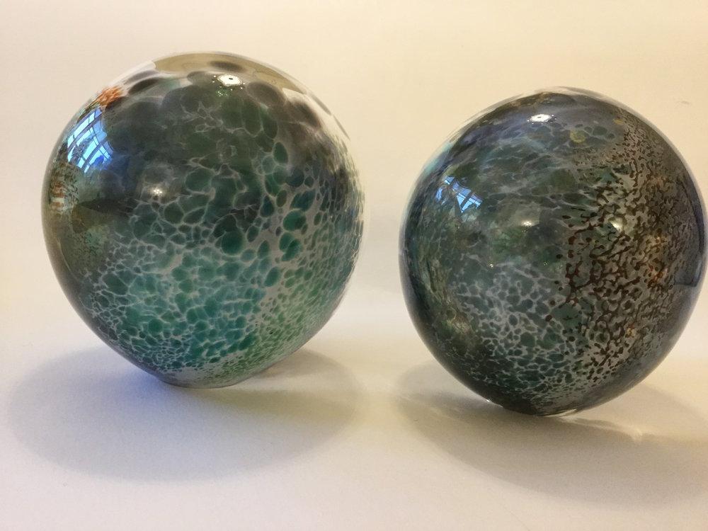 50c_Gillian McFarland, Glass Globes 3 & 4.JPG
