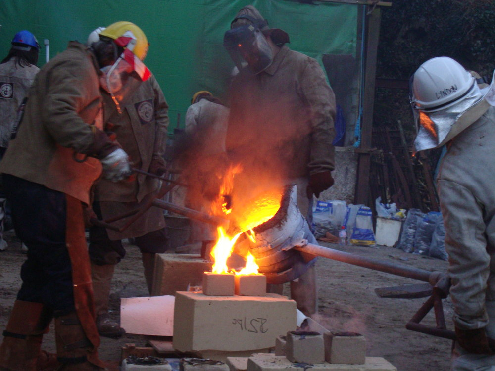 Iron pour Norton Farm