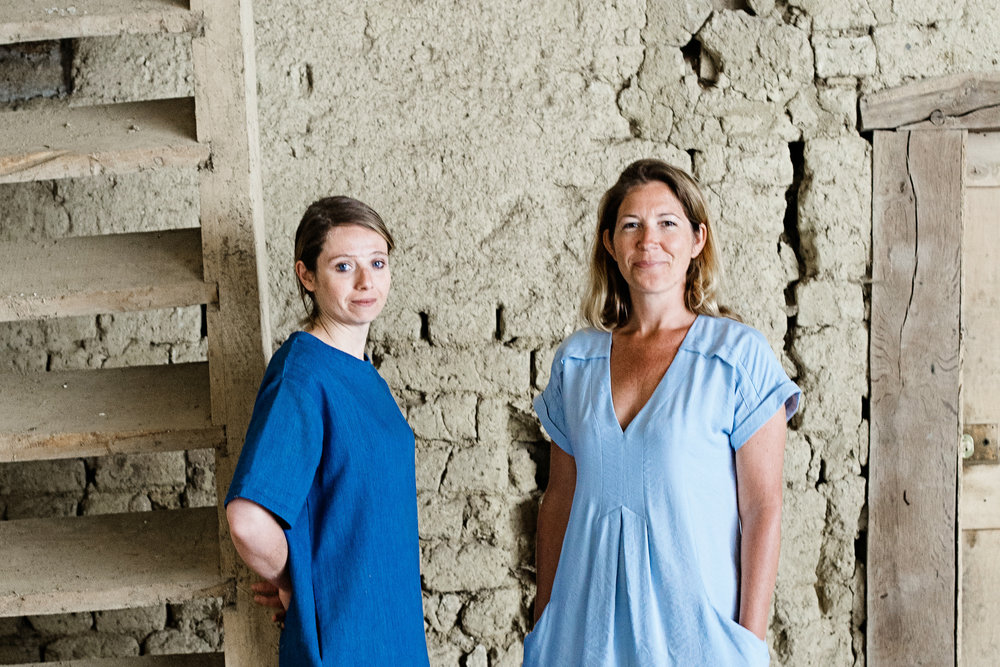 NICOLE PISANI (LEFT) + KATE ADAMS  info@foodforhappiness.co.uk