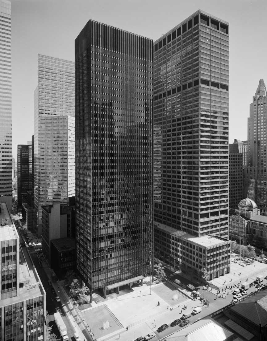 Classics Seagram Building Mies Van Der Rohe Philip Johnson