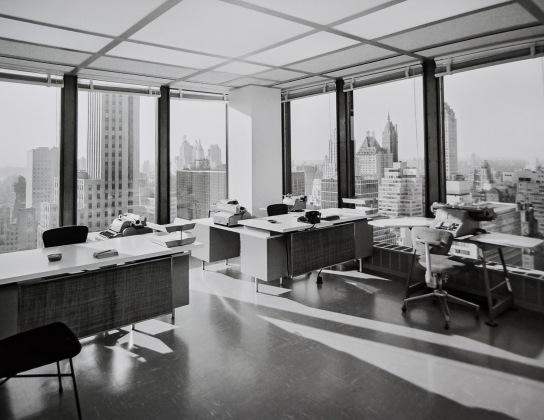 DSC_8689-1 - Una oficina del Seagram Building