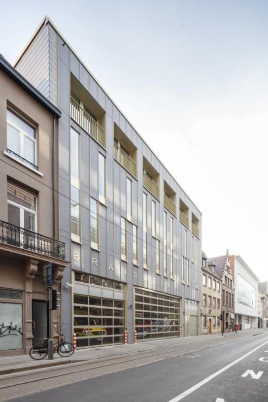 archaic_City Fire Station Antwerp_Hub 6