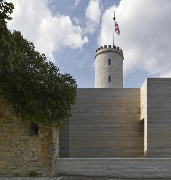 archaic_Sparrenburg Visitor Centre _Max Dudler 18
