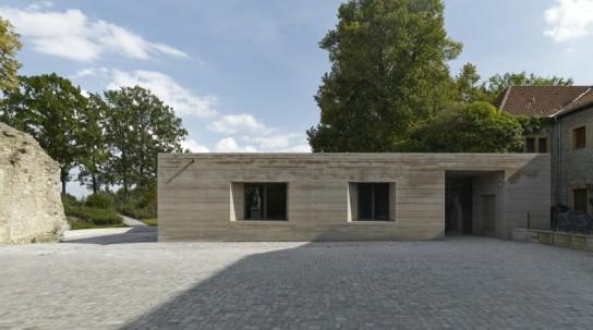 archaic_Sparrenburg Visitor Centre _Max Dudler 19