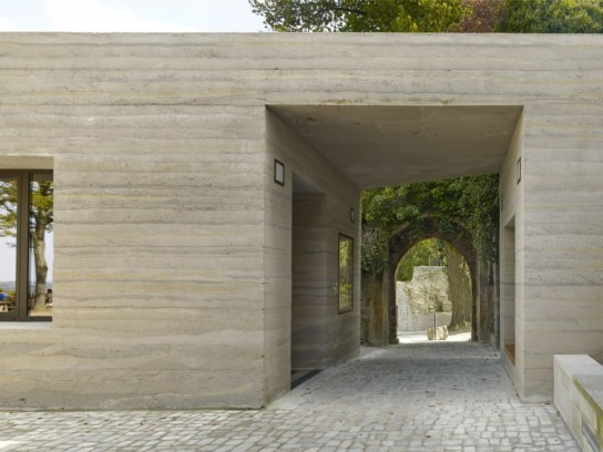 archaic_Sparrenburg Visitor Centre _Max Dudler 23