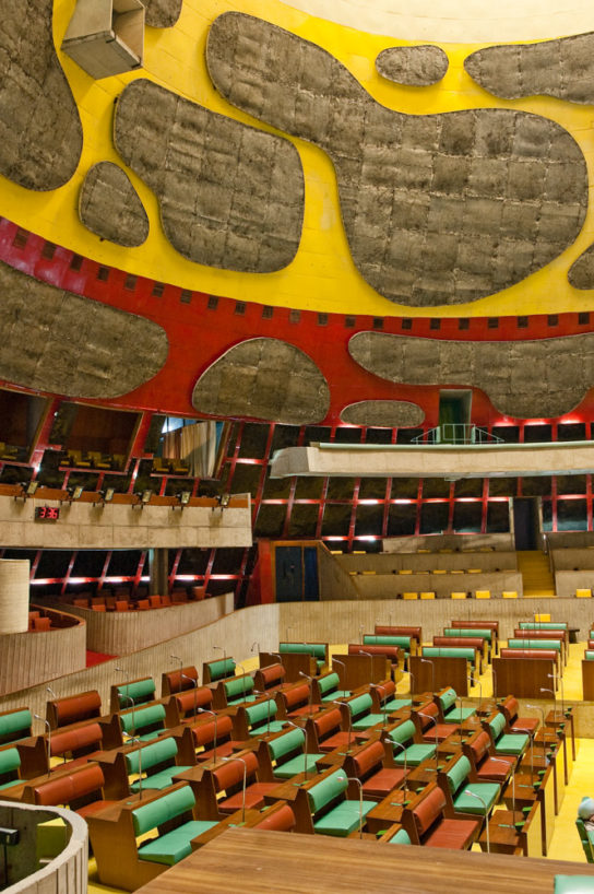 archaic_Chandigarh Assembly | Le Corbusier15