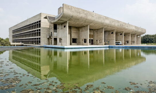 archaic_Chandigarh Assembly | Le Corbusier3