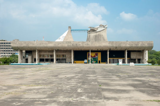 archaic_Chandigarh Assembly | Le Corbusier5