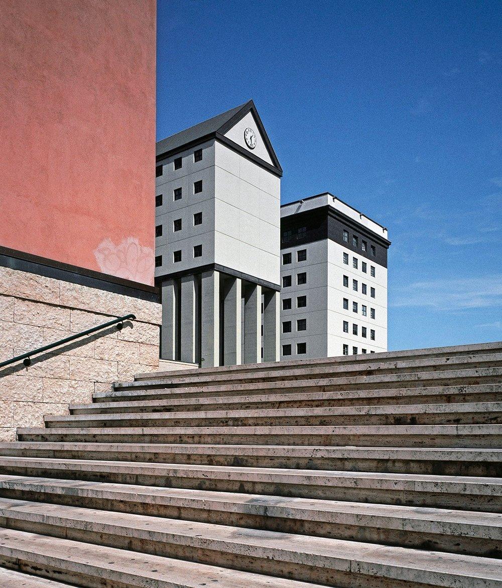 Centro Fontivegge by Aldo Rossi, Perugia, Italy, 1988
