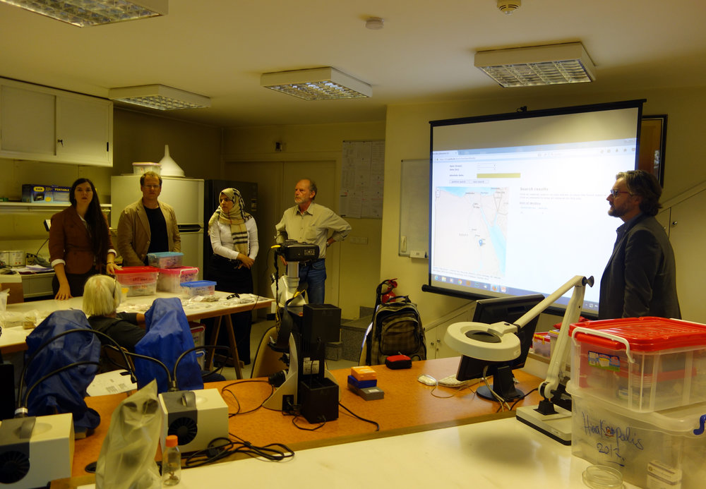 The group at the IFAO Lab