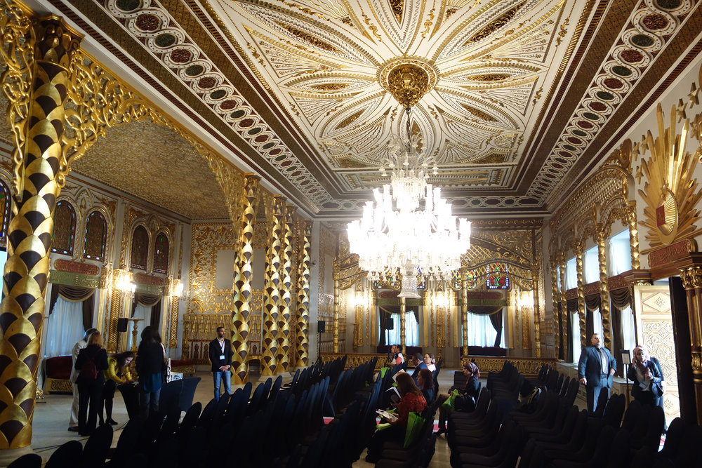 The Conference hall at the Manial Palace (photo: Giulio Lucarini)