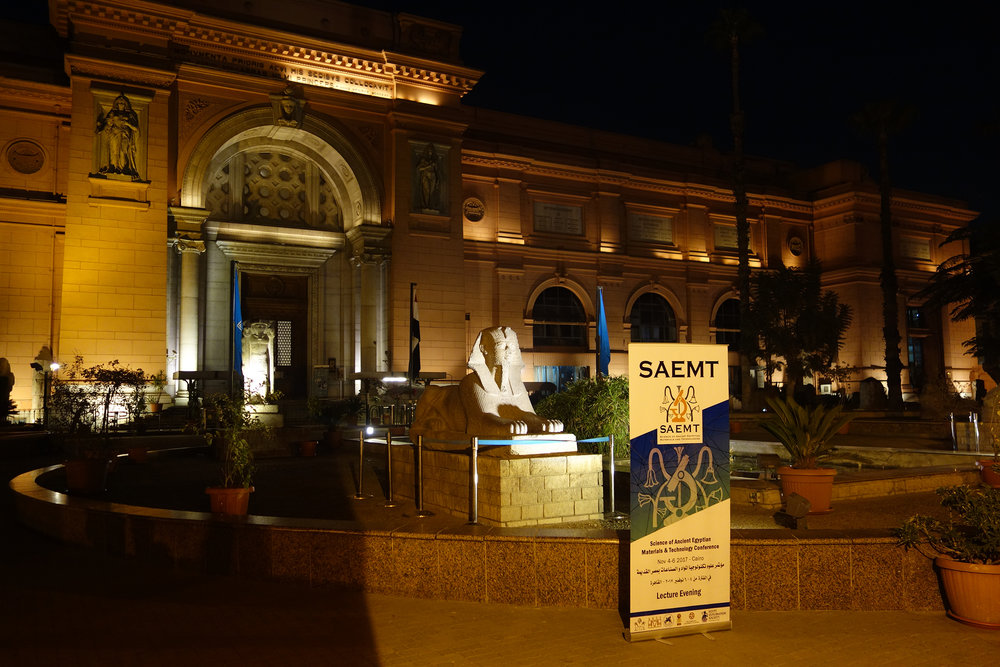 The SAEMT at the Egyptian Museum (photo: Giulio Lucarini)