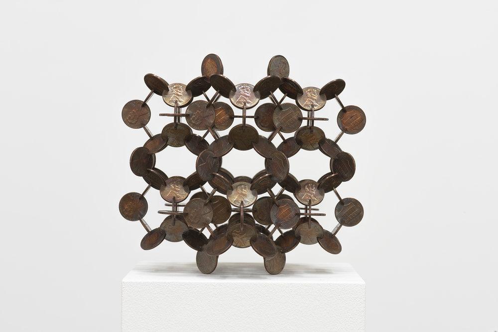 Penny Molecule (Toned), 2017 - View 2