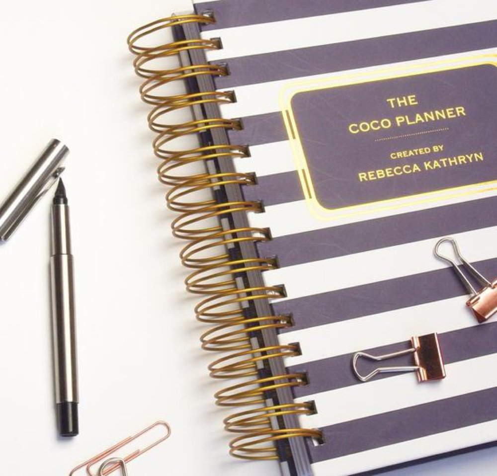 The Coco Planner by Rebecca Kathryn