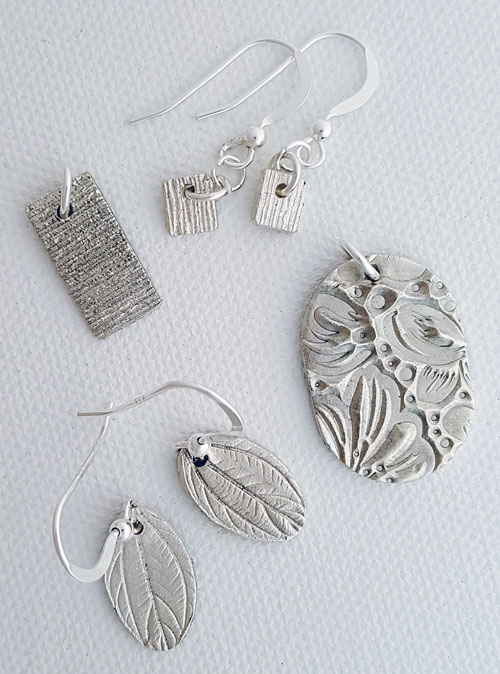 Brenda's pendants and earrings