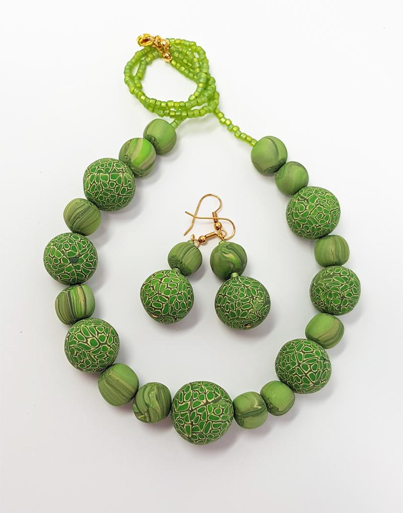 Christine's Millefiori Beads