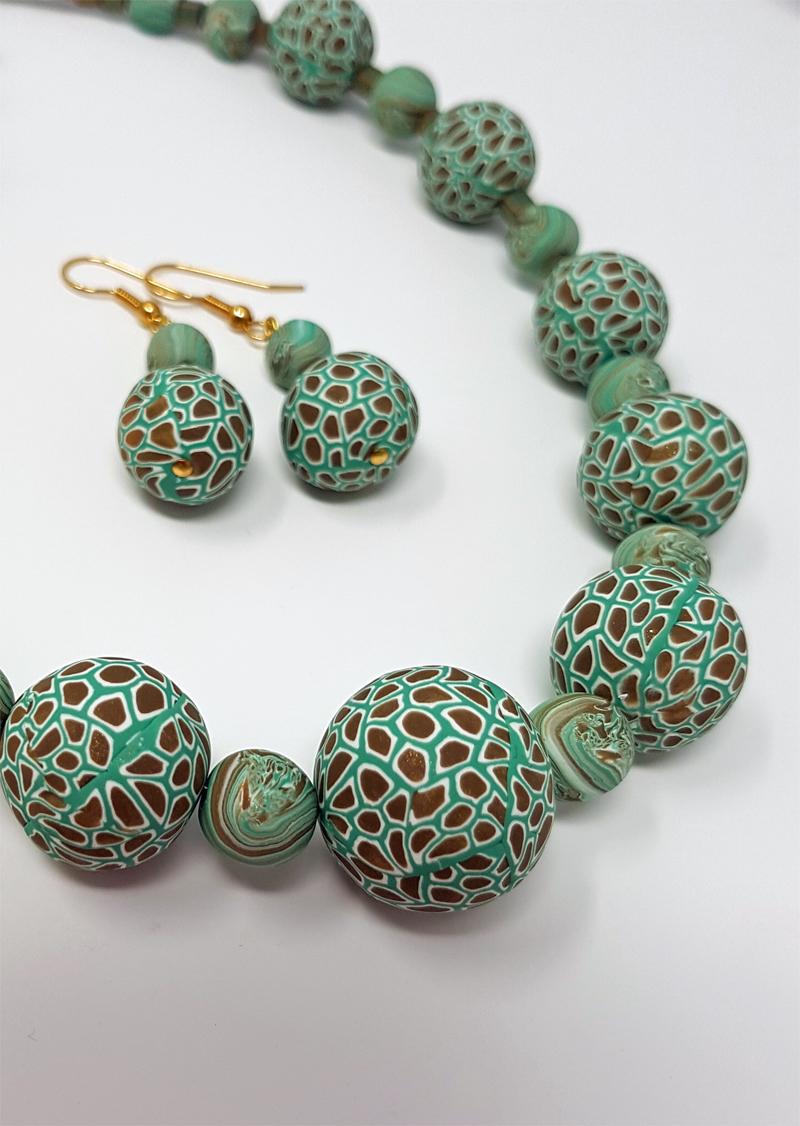 Joanna's Millefiori necklace