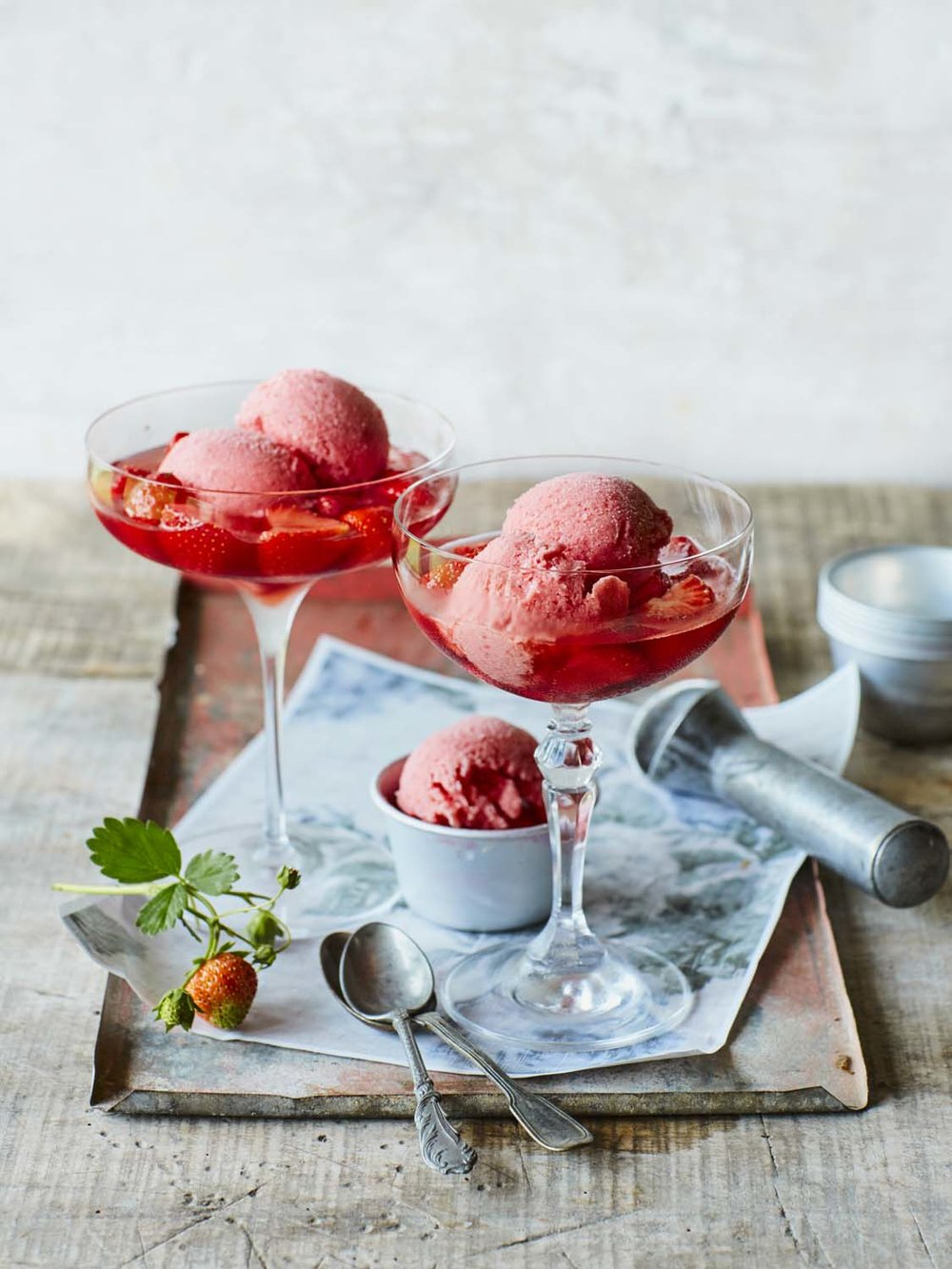 Strawberry soup with strawberry yogurt ice cream copy 2.jpg