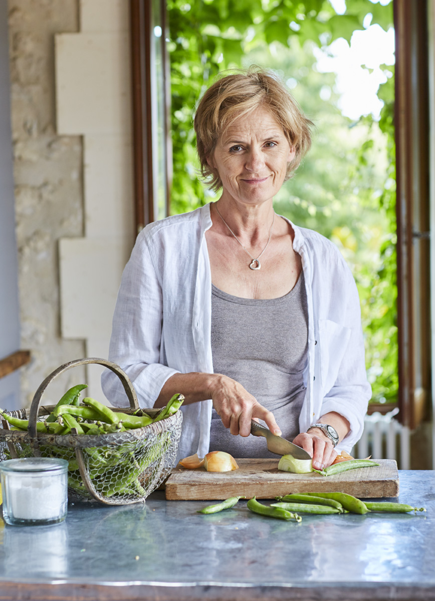 Hi, I'm Louise owner of Come Cook In France, a small cookery school in South West France. I teach from my beautiful French kitchen with views of the countryside and farm animals. It is a wonderfully relaxed atmosphere in which to cook, teach, eat and laugh.
