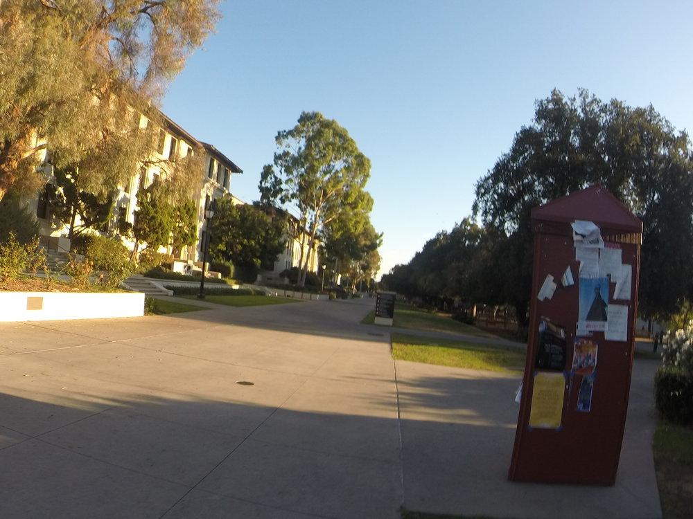 Campus of Occidental College