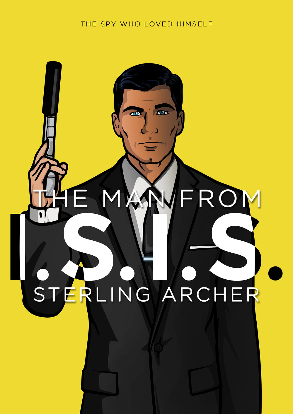 Archer x The Man from U.N.C.L.E.