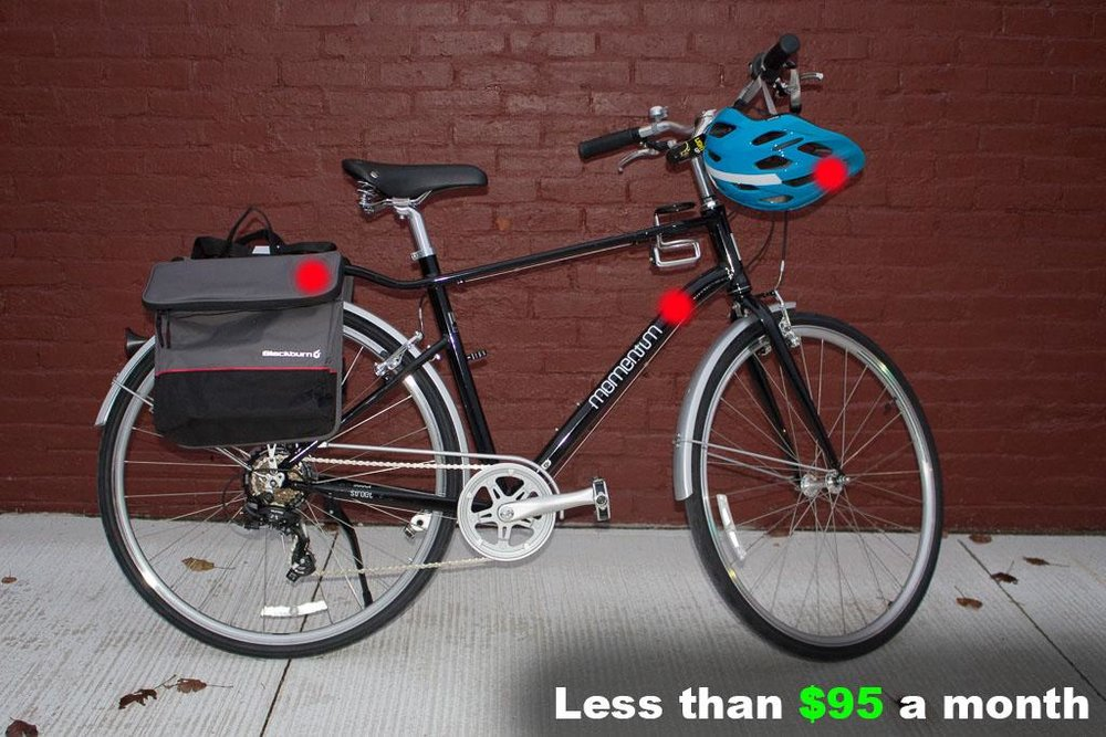 Men's Commuter Bicycle Package