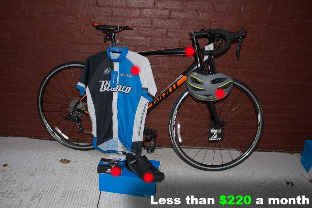 Men's Performance Road Cycle Package