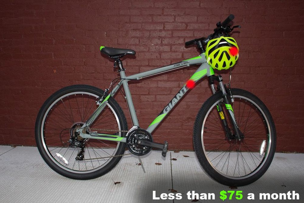 Men's Mountain Bike Package