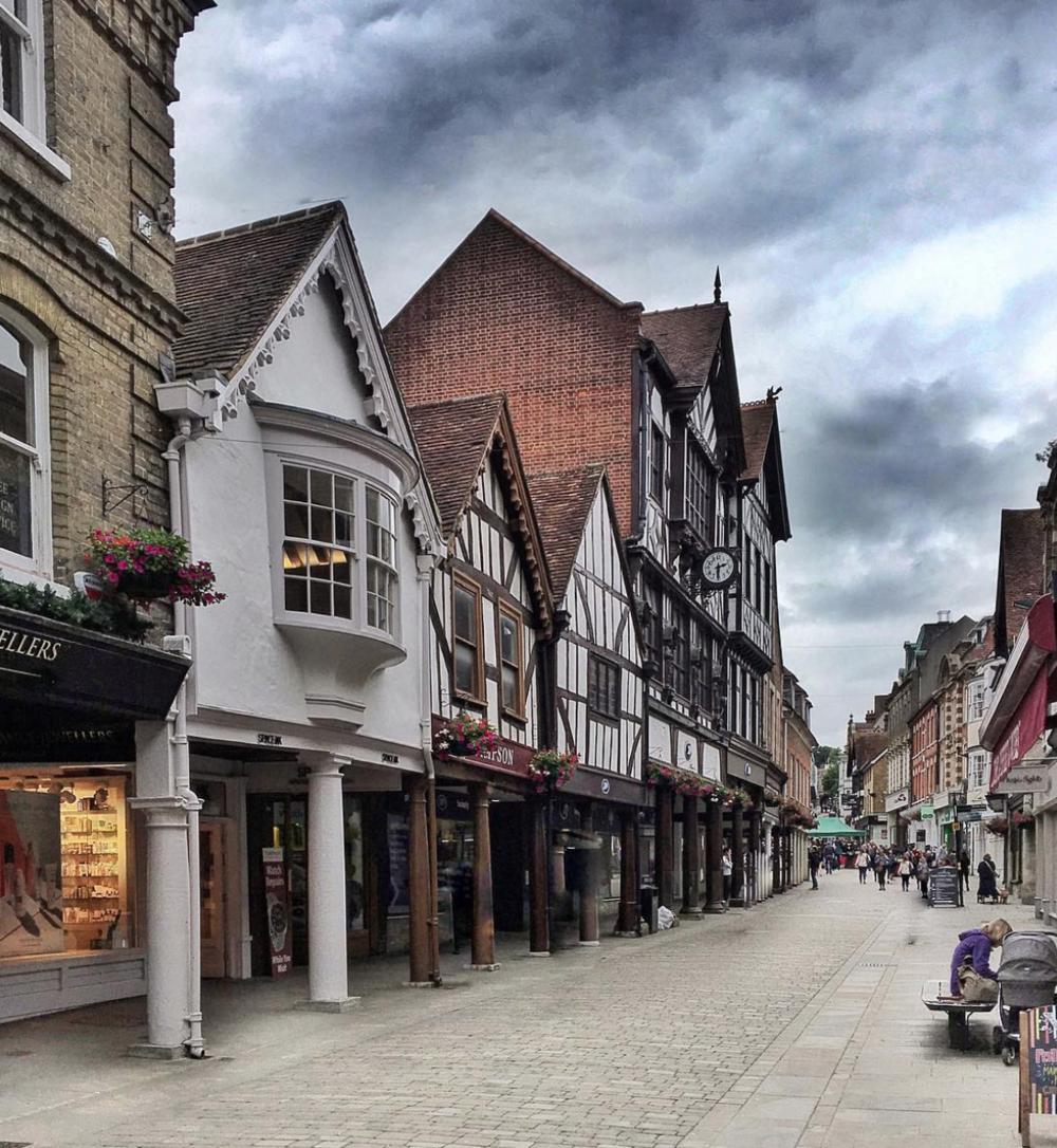 Winchester's Pretty High Street