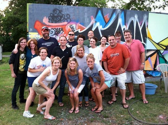 The #639Create crew at Area15 in NoDa, Charlotte, NC.