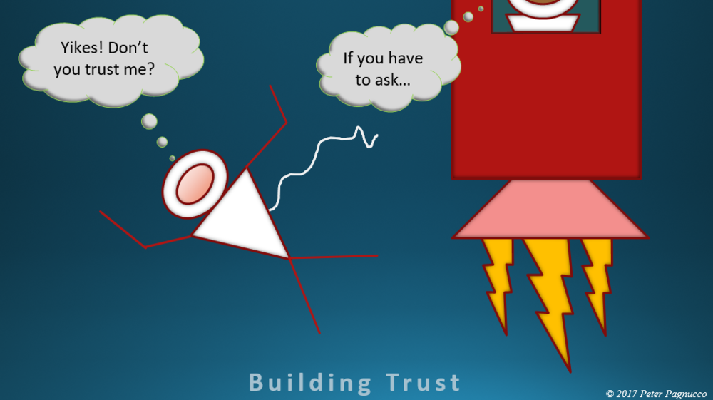 BUILDING TRUST - Strengthening Relationships by Using the Skills of Integrity & Competence