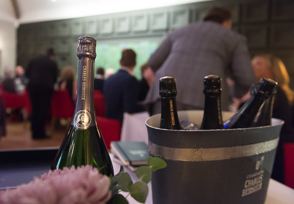 Above - Encounter #3 : Paul Askew's food and Charles Heidsieck pairing masterclass.