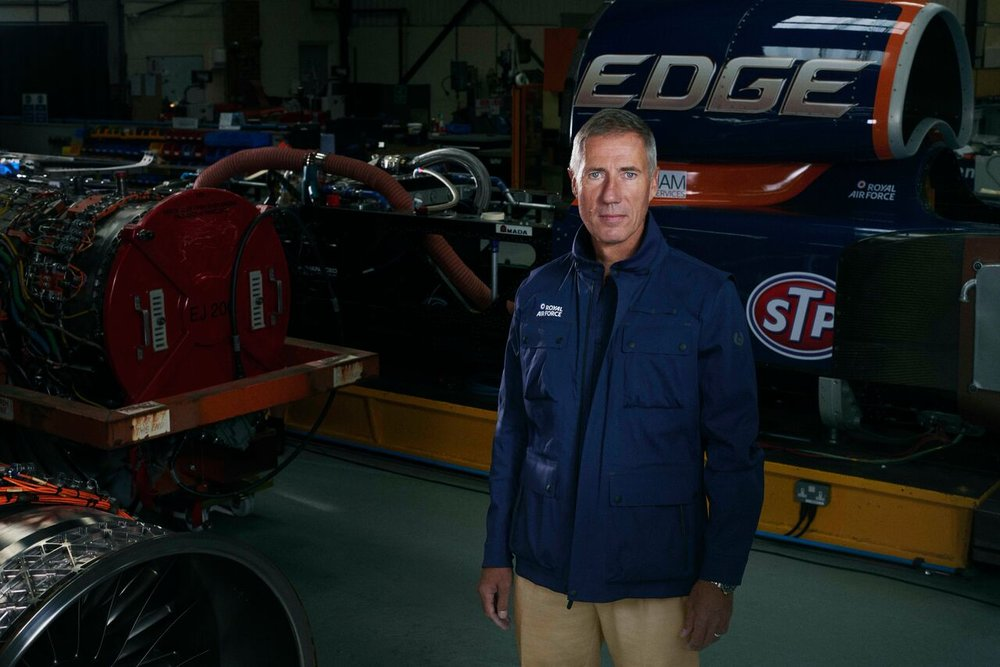 Andy Green, current Land Speed Record Holder