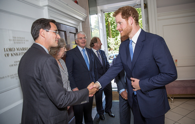 Prince Harry visits Chatham House, 15 June 2017