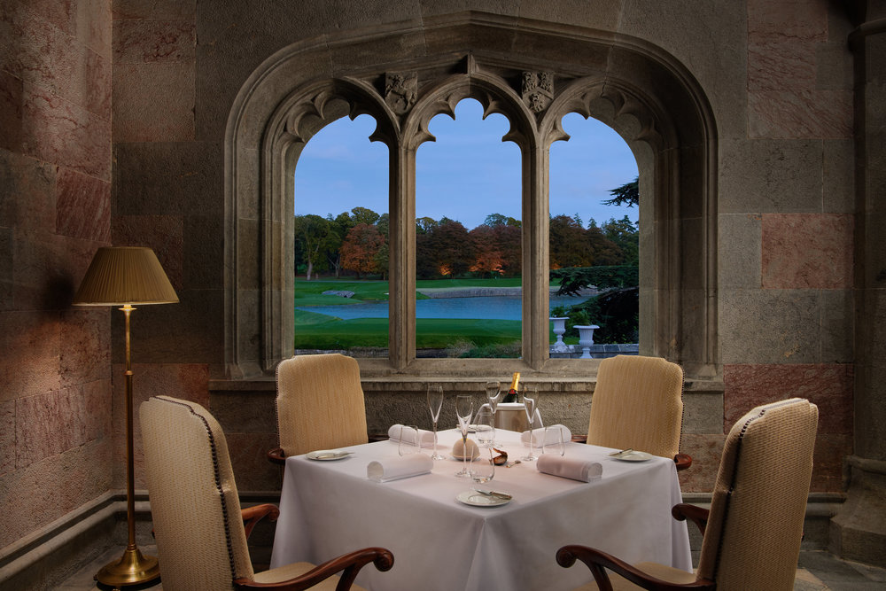 Adare Manor Terrace Room