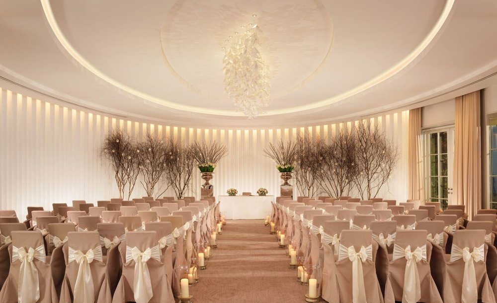 Oval Room wedding ceremony