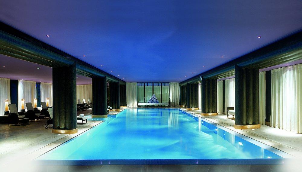 La Reserve Geneva Spa swimming pool