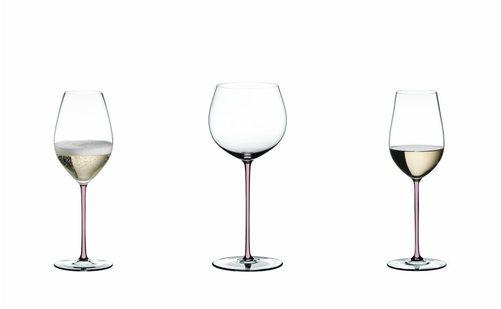L - R: Champagne, Riesling, Oaked Chardonnay
