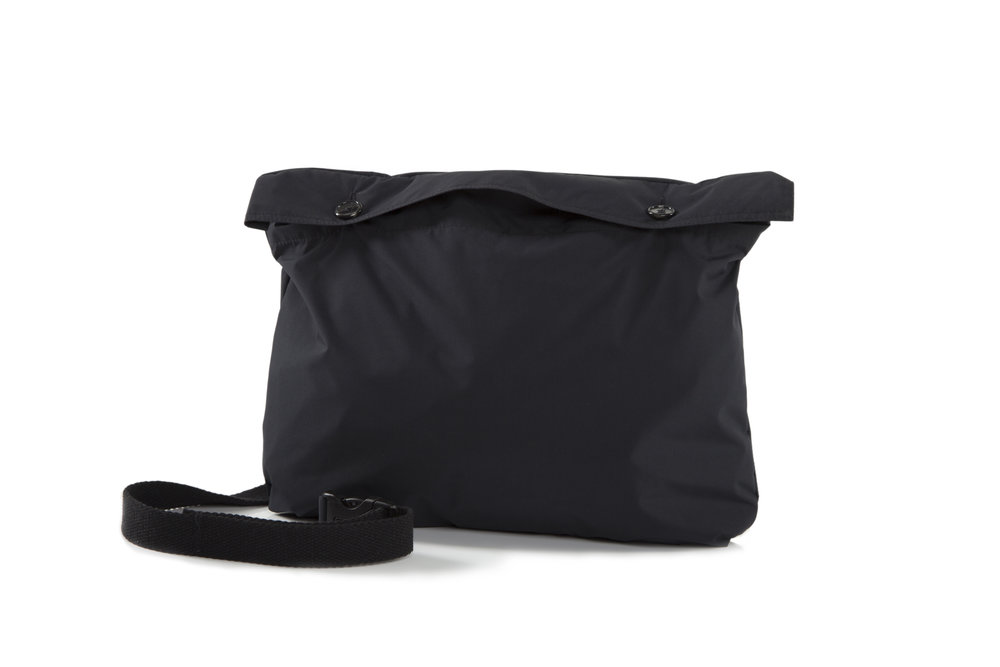 The jacket when folded into a bag!