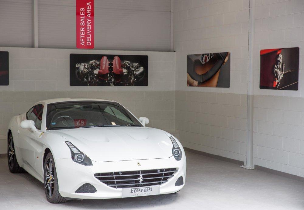 New Ferrari Service Centre at Meridien Modena, Lyndhurst - Customer Handover Area.jpg