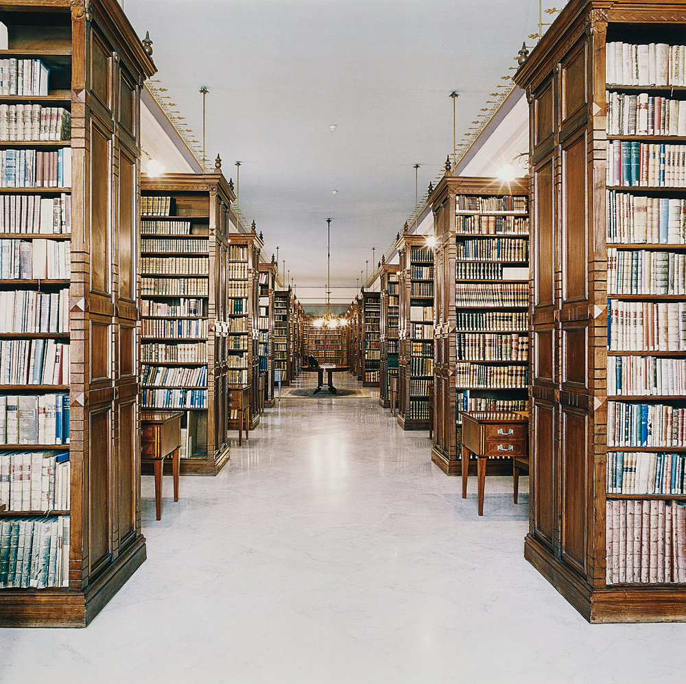 CANDIDA HÖFER | Biblioteca de la Real Academia de la Lengua Madrid I | 2000 | Estimate: £20,000 - 30,000