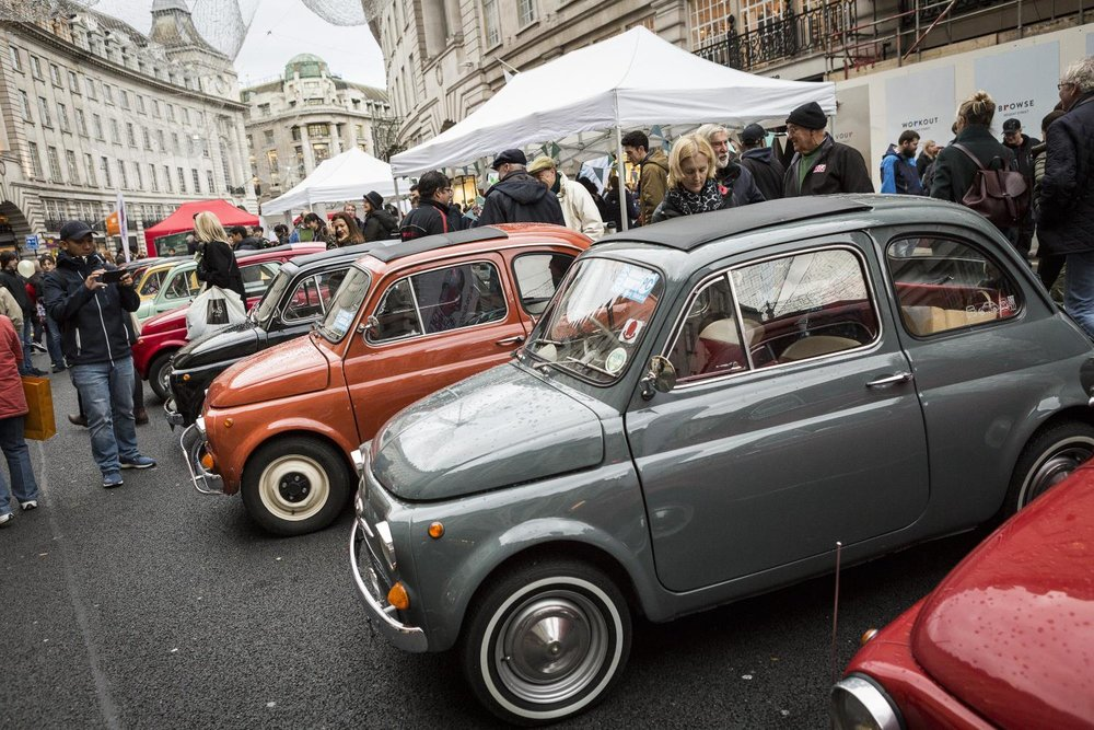 Huge crowds at the annual Regent Street Motor Show 3.jpg