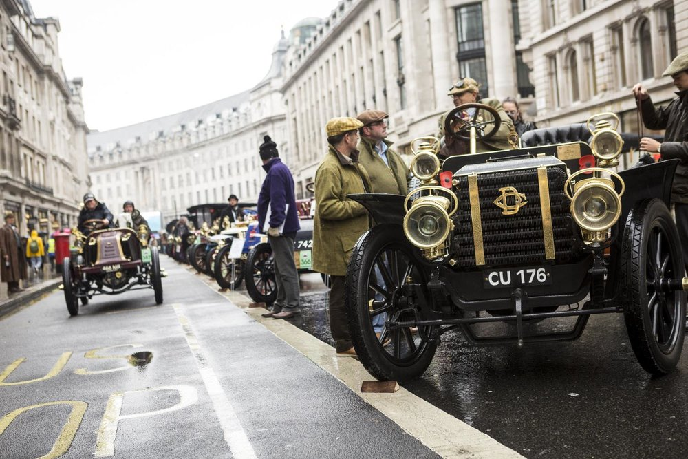 Huge crowds at the annual Regent Street Motor Show 4.jpg
