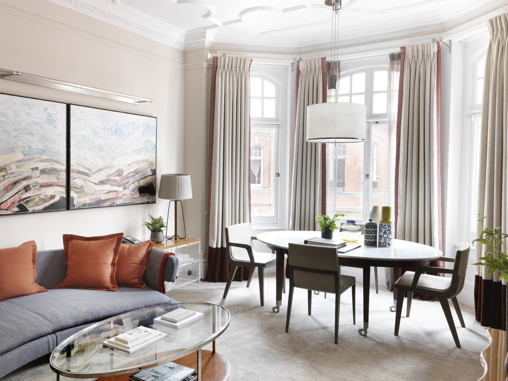 Enjoy a five-star home-from-home in a quintessentially London red-brick townhouse
