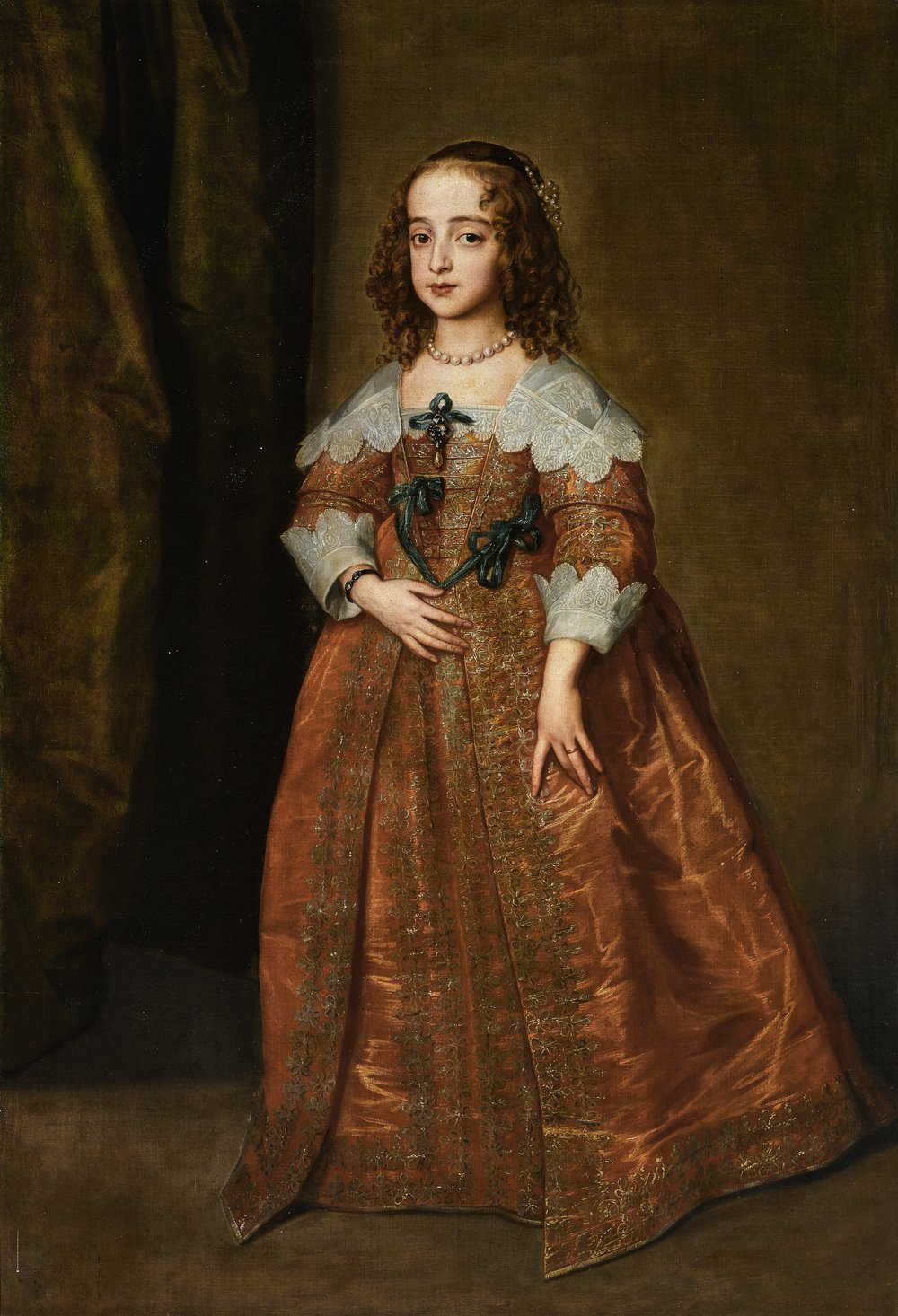 Van Dyck Portrait of Mary, Princess Royal and Princess of Orange: £600,000 - 800,000